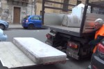 Nelle strade Unesco a Palermo nuova squadra della Rap per il ritiro dei rifiuti ingombranti