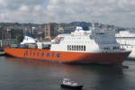 Nuova nave Tirrenia per i tir fra Genova, Livorno e Catania: 30 assunzioni