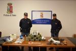 Blitz antidroga a Trapani, trovati 30 chili di hashish: arrestato un giovane