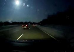 Usa, incredibile meteora illumina il Michigan