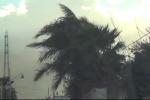 Vento a 100 all'ora sul Tirreno, forti raffiche anche a Palermo - Video