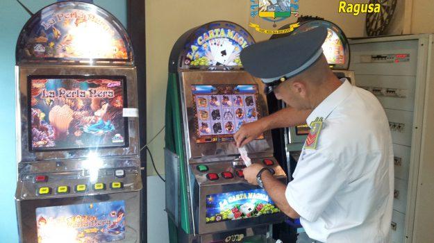 videopoker illegali, Ragusa, Cronaca