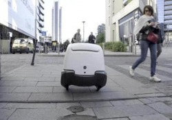 Yape, come funziona il postino-robot «made in Italy»