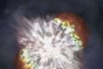 Scoperta la supernova più lontana mai vista
