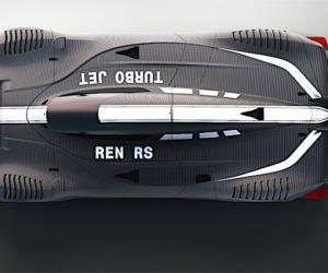 A Ginevra debutta supercar elettrica cinese Techrules Ren RS