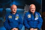Il gemello spaziale Scott Kelly è di nuovo un 'terrestre'