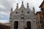 Pisa, in chiesa Spina tele tolte '800