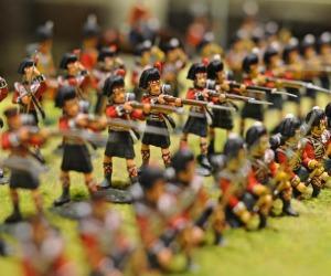 Guerra Crimea in 300 soldatini di piombo
