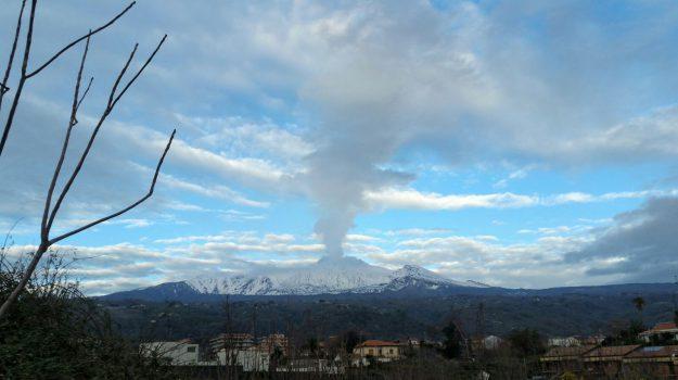 etna, terremoto zafferana etnea, Catania, Cronaca