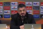 """Al Milan basta un gol di Borini, Ludogorets battuto. Gattuso: """"Spero di restare qui"""" - Video"""