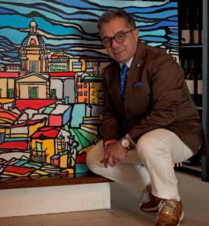 Le opere di Anastasi al Castello a Mare con i colori di Sicilia - Foto