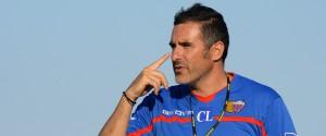 Cristiano Lucarelli, allenatore del Catania