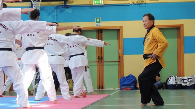 Arti Marziali, stage Taekwondo palermo, Young Ghil Park, Palermo, Sport