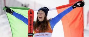 """Sofia Goggia d'oro, è prima nella discesa libera: """"Una gara perfetta"""""""