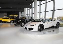 La Huracan donata al Papa esposta al Museo Lamborghini