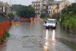 Allerta meteo in Sicilia, allagamenti e strade chiuse a Palermo