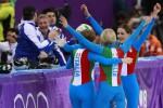 Giochi, argento nello short track e bronzo nella staffetta mista di biathlon