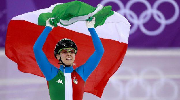 medaglia d'oro fontana, PyeongChang 2018, Arianna Fontana, Sicilia, Sport