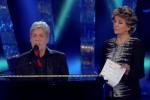 """Baglioni e Leosini a Sanremo, gag su """"Questo piccolo grande amore"""" - Video"""