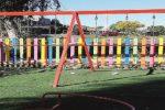 Vandali a Paternò, danneggiate le altalene della bambinopoli