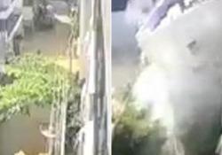 Bangalore: crolla palazzo di cinque piani