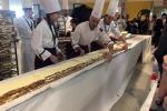 In Friuli Venezia Giulia il tiramisù più lungo del mondo, è record mondiale
