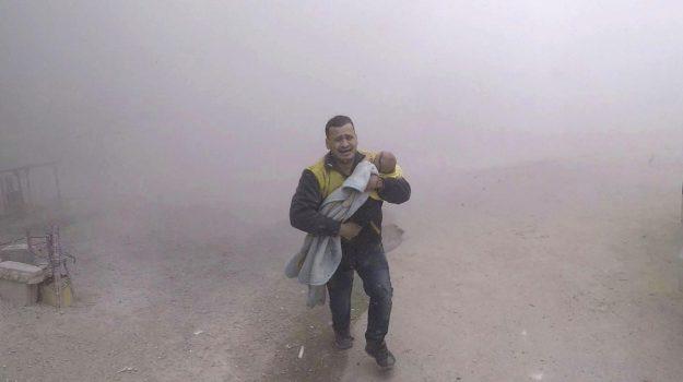 guerra siria, Sicilia, Mondo