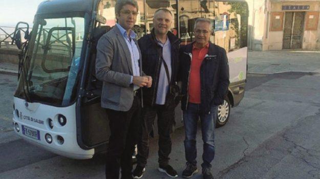 salemi bus elettrico, Trapani, Cronaca