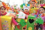 Carnevale dei bambini in piazza a Favignana