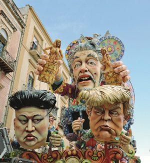 """Il carro """"L'Ago della bilancia"""" trionfa a sorpresa al Carnevale di Sciacca"""