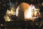 E' quaresima, la parrocchia ritira un carro per il carnevale di Alcamo