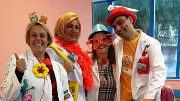 bambini ospedale, clownterapia, Palermo, Società