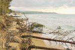 Erosione della costa a Eraclea Minoa, a rischio gli stabilimenti balneari