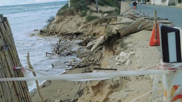 erosione costa ispica, Ragusa, Cronaca