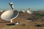 Il primo 'orecchio' del più grande radiotelescopio del mondo