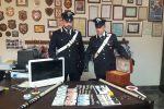 Scoperto un deposito di droga a piazza Scaffa, arrestati padre e figlio a Palermo