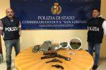 Droga e armi in casa allo Zen a Palermo, 3 arresti