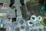 Droga e armi in casa, arrestati genitori e figlio allo Zen di Palermo