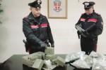 In casa con 11 chili di droga, un arresto a Siracusa