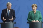 Gentiloni, con Merkel visione comune per rilancio Ue