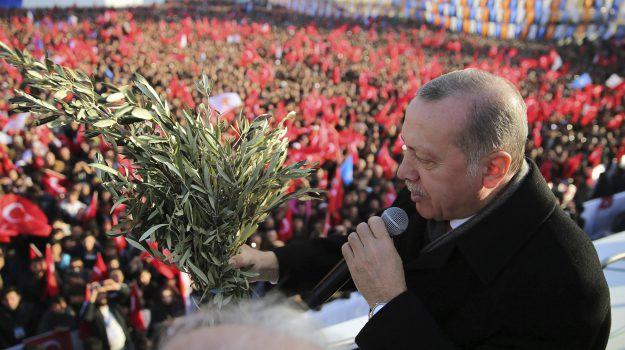 Turchia, Recep Tayyip Erdogan, Sicilia, Mondo