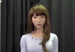 Erica, in Giappone la conduttrice robot che condurrà il tg