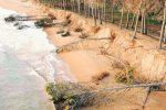 Erosione della costa, il mare avanza ancora: allarme a Eraclea e Licata
