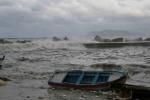 Effetto Buran sulla pesca, -40% prodotti nei mercati