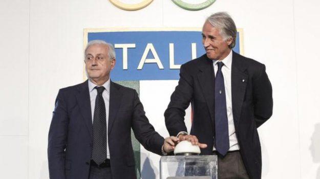 Figc Italia Commissario, Roberto Fabbricini, Sicilia, Sport