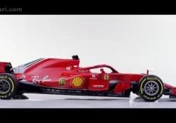 Ferrari F1 2018, ecco la SF71H