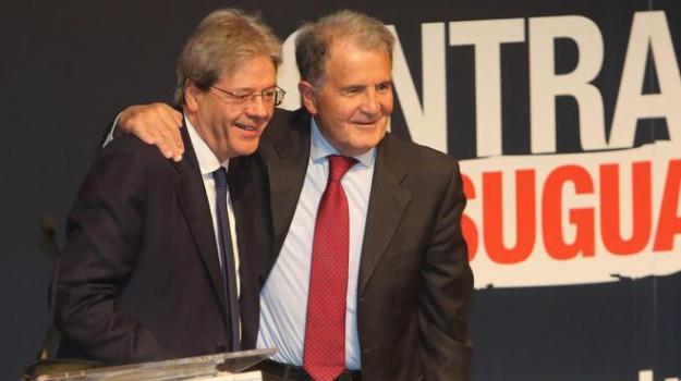 centrosinistra, elezioni politiche 2018, pd, Paolo Gentiloni, Romano Prodi, Sicilia, Politica