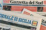 Gazzetta del Sud e Giornale di Sicilia, nuovo gruppo editoriale: la presentazione con Gentiloni