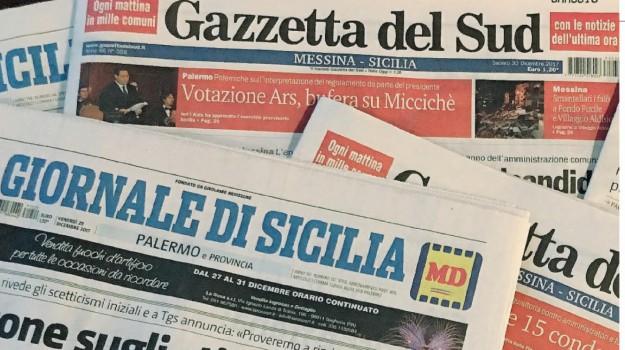 editoria, gazzetta del sud, giornale di sicilia, Sicilia, Economia