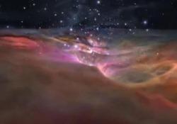 Il meraviglioso «viaggio» dentro la Nebulosa di Orione